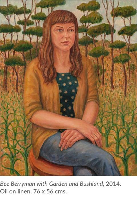 Bee Berryman painting
